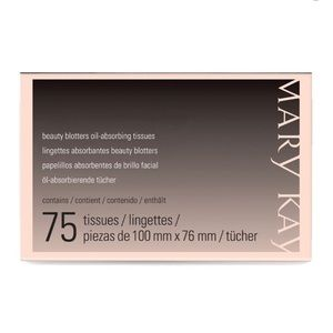 Mary Kay Beauty Blotters Oil Absorbing Tissues NWT